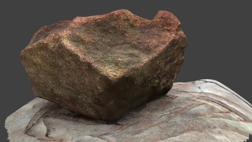 Scanned Rock (high poly) preview image