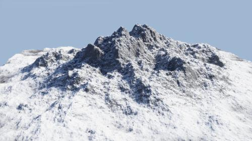 Procedural Snowy Mountains preview image