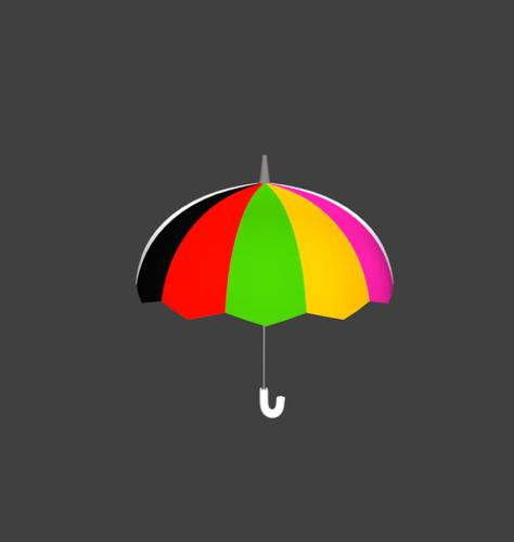 Colorful Umbrella preview image