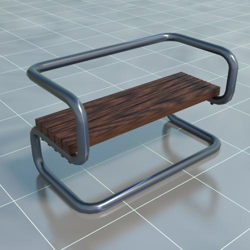 Urban bench preview image