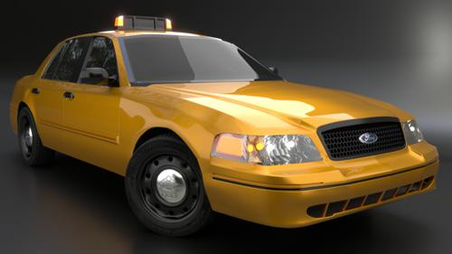Ford Crown Victoria Taxi 2005 (Old) preview image