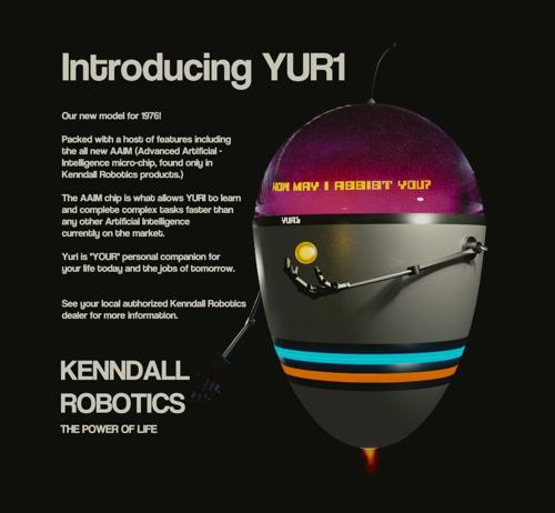 YUR1 Artificial Robotic Companion preview image