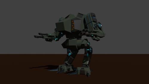My first Mecha preview image