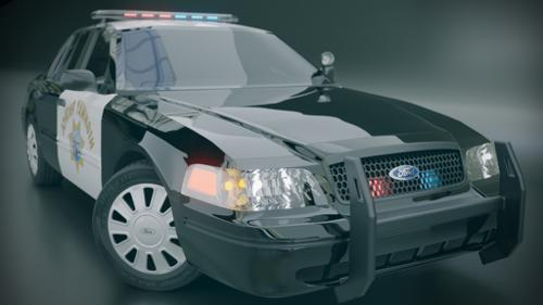 Ford Crown Victoria Police Interceptor (Old) preview image