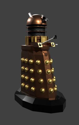Dr. Who Dalek preview image