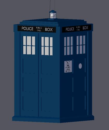 Dr. Who Tardis preview image