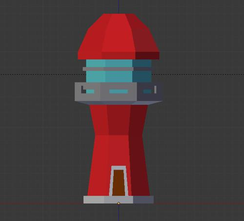 Low Poly Lighthouse preview image