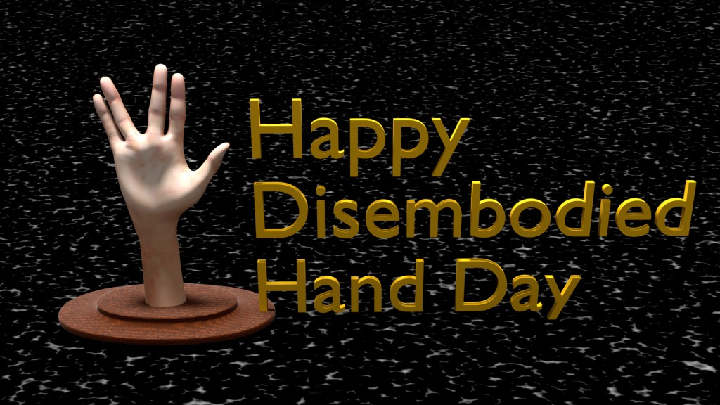 Disembodied Hand preview image 1