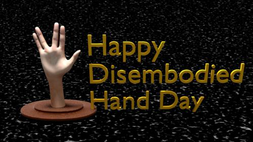 Disembodied Hand preview image