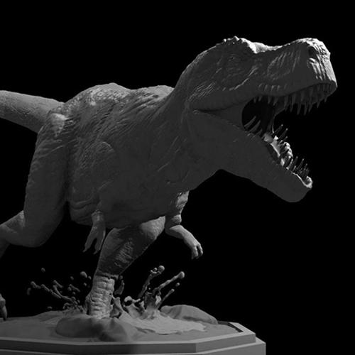 Tyrannosaurus Sculpture preview image