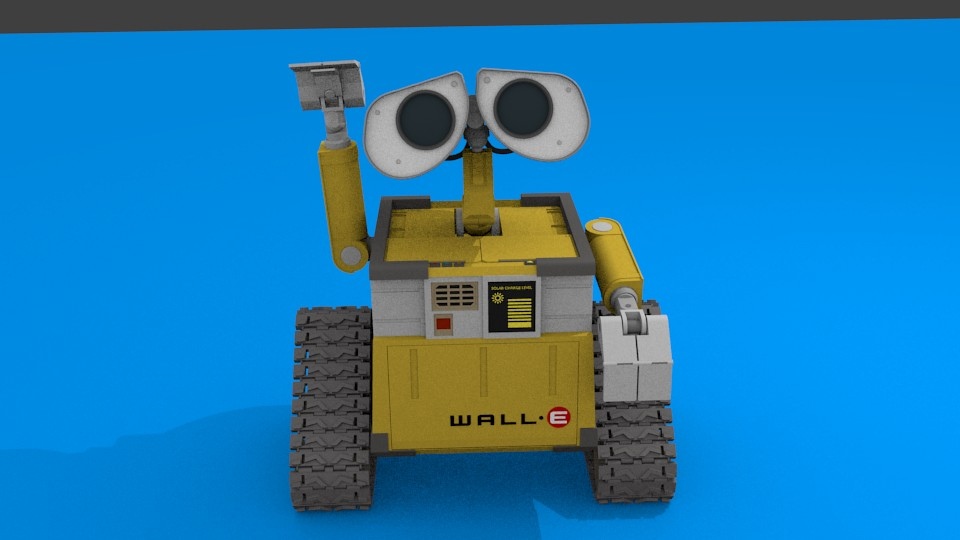 WALL-E Non-Armature Rig Test preview image 1