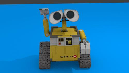 WALL-E Non-Armature Rig Test preview image