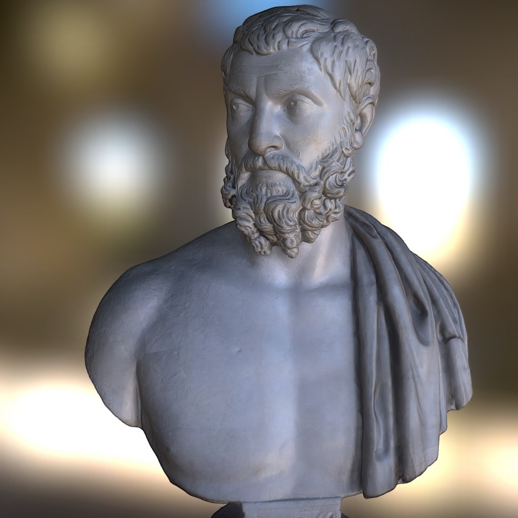 Bust of a rhetorician preview image 1