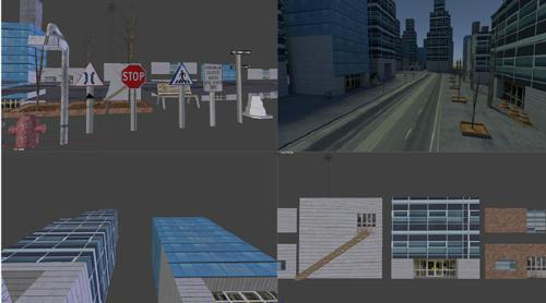 City Asset Pack preview image