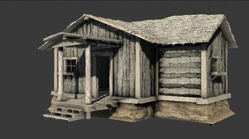 Haunted Old Shack preview image