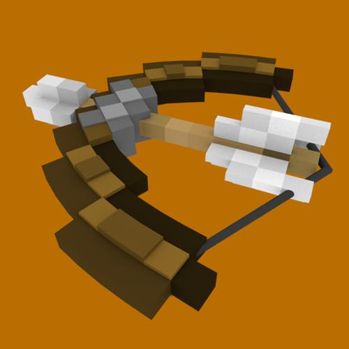 Minecraft Bow(bendable) preview image