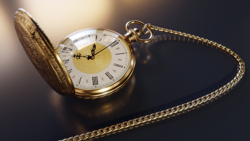 Vintage Pocket Watch preview image 4