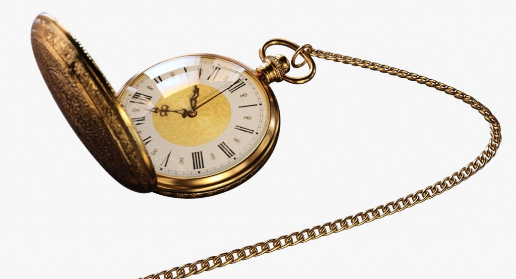 Vintage Pocket Watch preview image 1