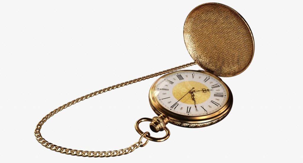Vintage Pocket Watch preview image 3
