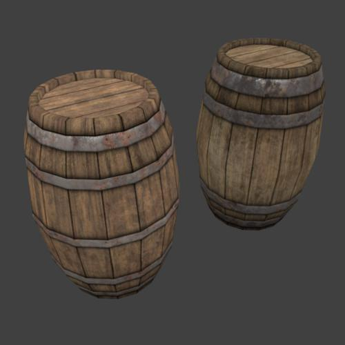 barrel_wood_01 preview image
