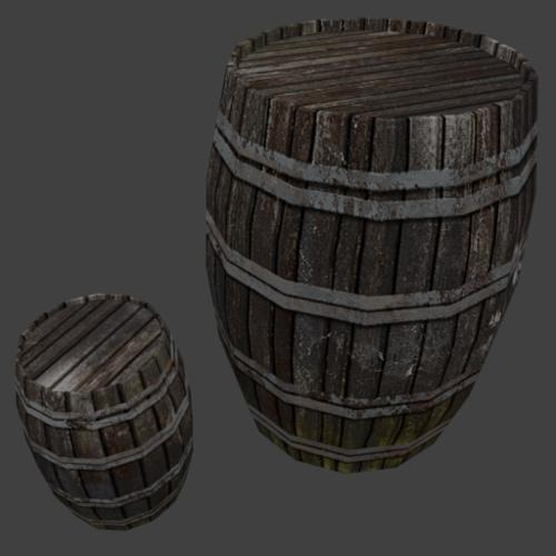 barrel_wood_02 preview image