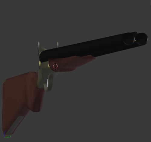 10 Gauge Double Barrel Shotgun preview image