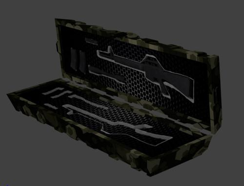 Hi-Poly Weapon Crate preview image
