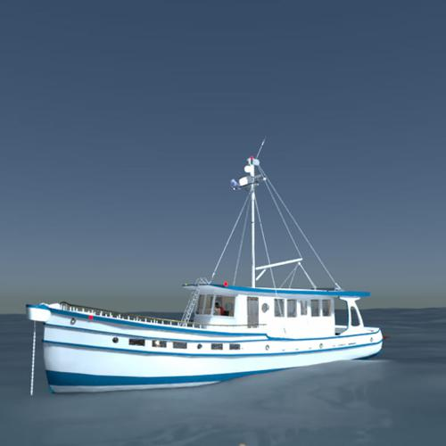 Sport Fishing Boat preview image
