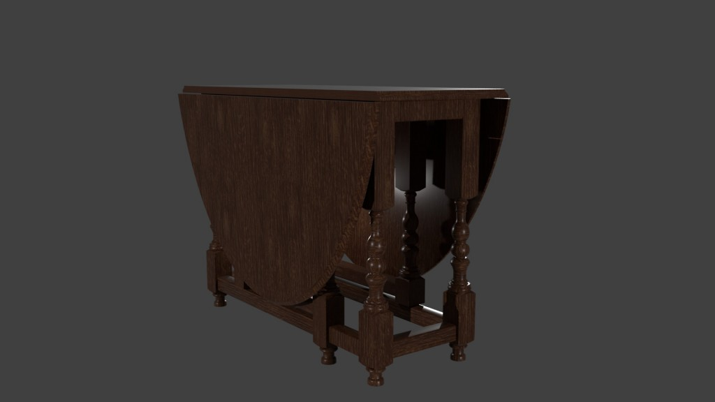 Drop Leaf Table preview image 1