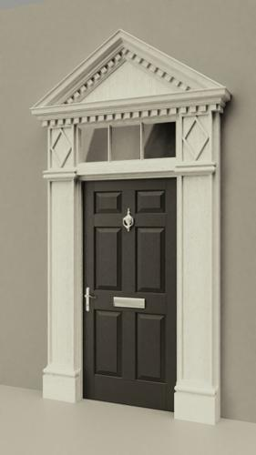 Colonial Door & Frame preview image