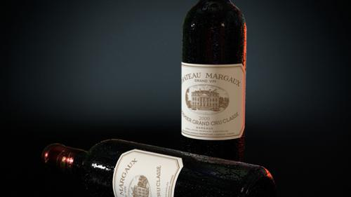 WINE BOTTLE CHATEAU MARGAUX  2000 EDITION preview image