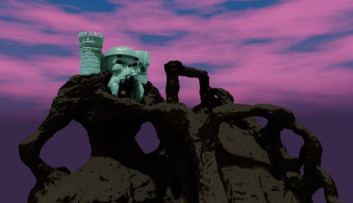 Castle Grayskull With Bridge (Decimated Version) preview image