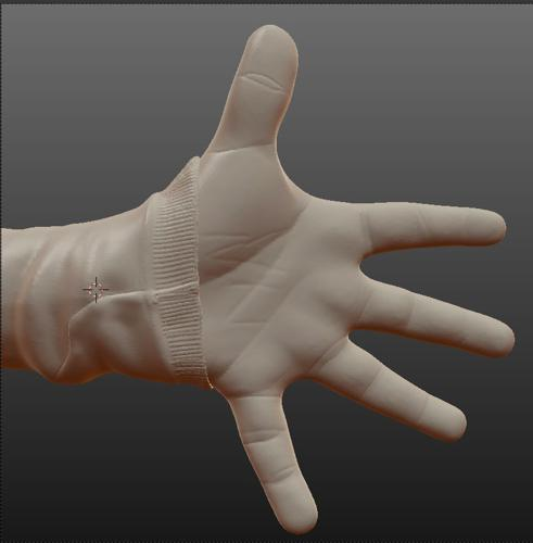 Sculpted Childhand 1 preview image