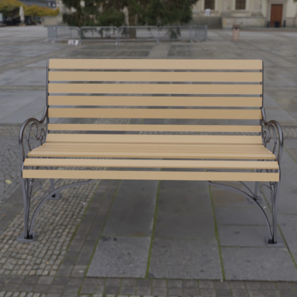 Bench with original forging preview image 1