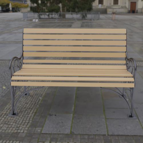 Bench with original forging preview image