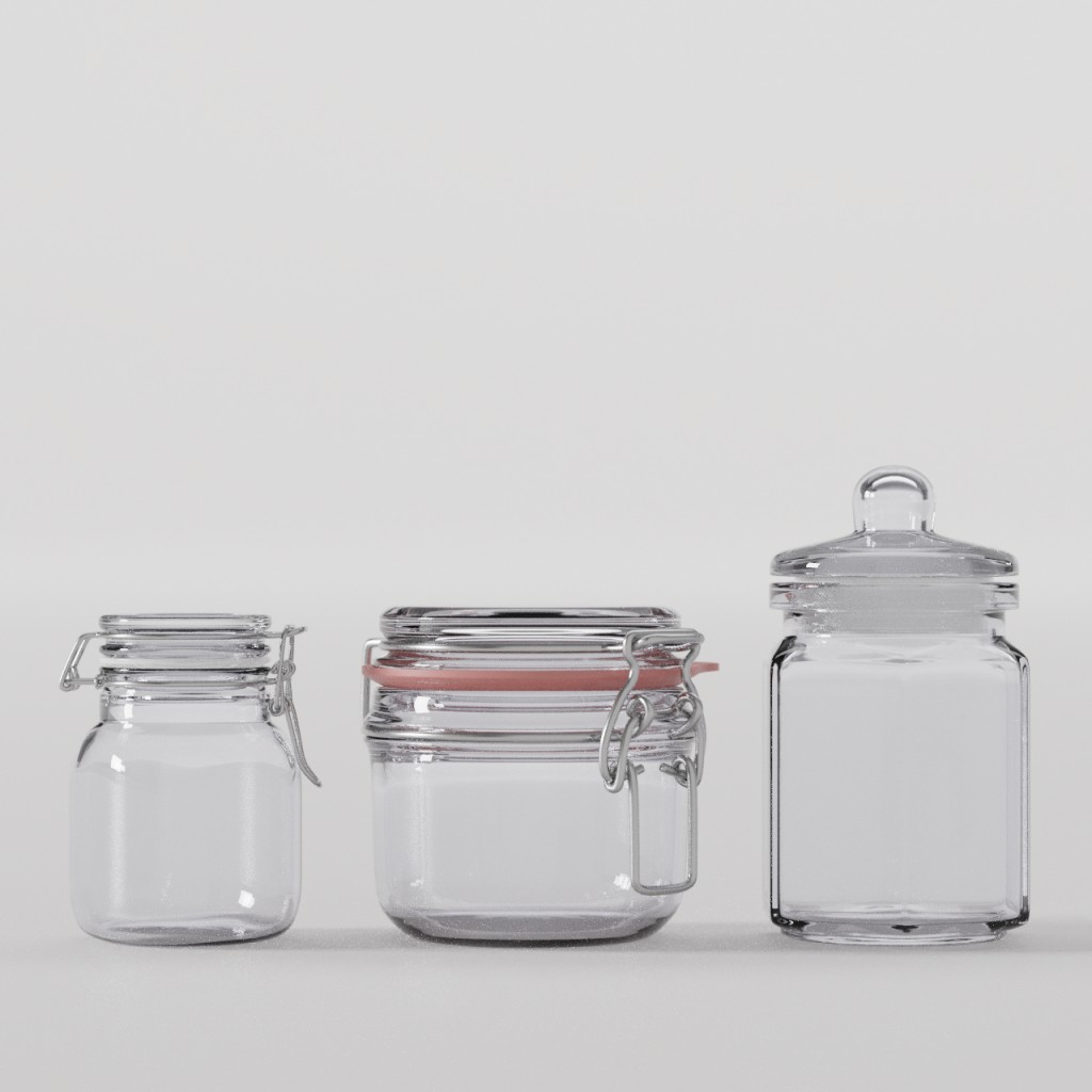 Glass container preview image 1