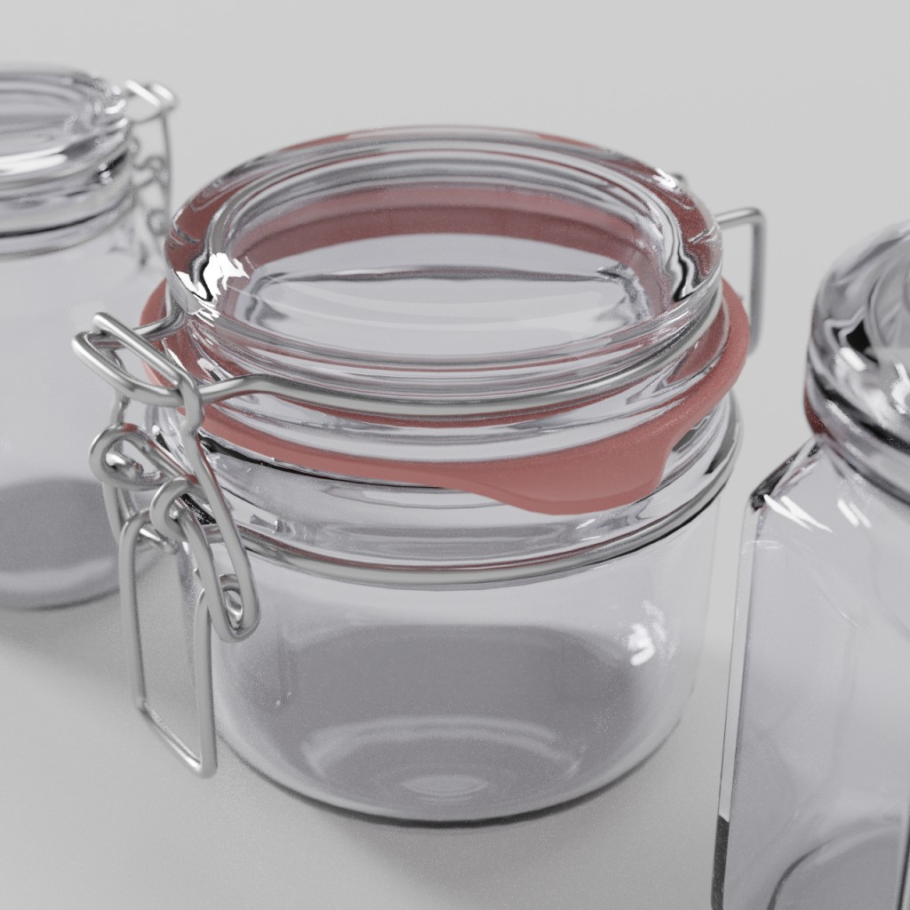 Glass container preview image 2