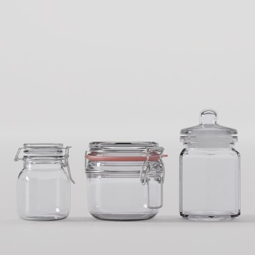 Glass container preview image