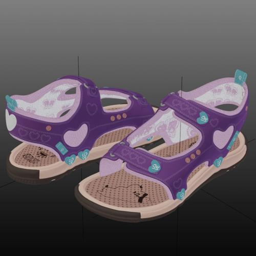 little girls sandals (EU23) preview image