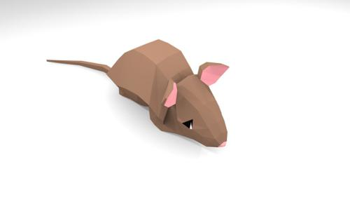 LOW POLY RAT preview image