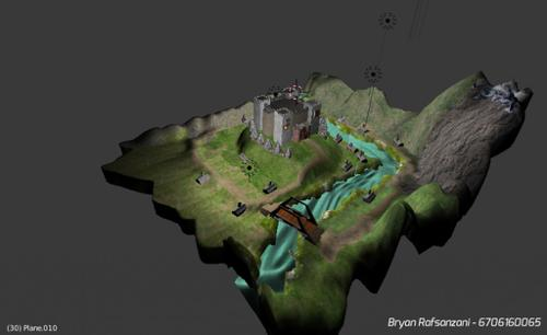 Medieval Castle on the Hills preview image