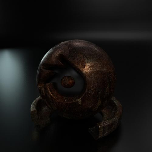 Rusty Cycles Material preview image