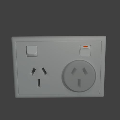 PowerOutletAS_NZS 3112 twin power socket preview image