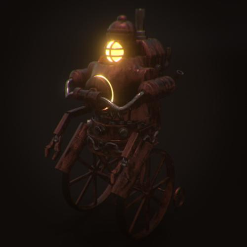 Steampunk Robot preview image