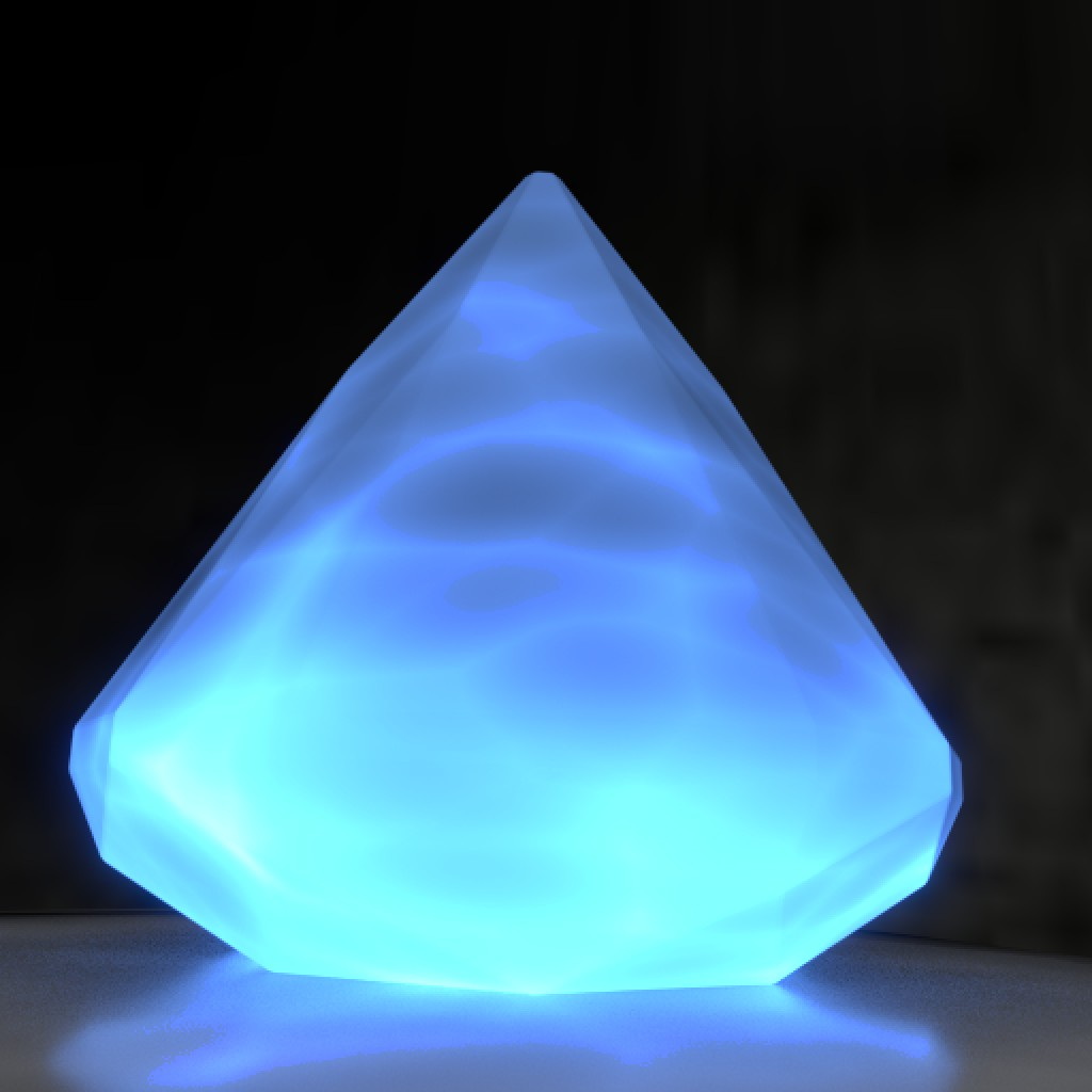 Glowing Crystal preview image 1