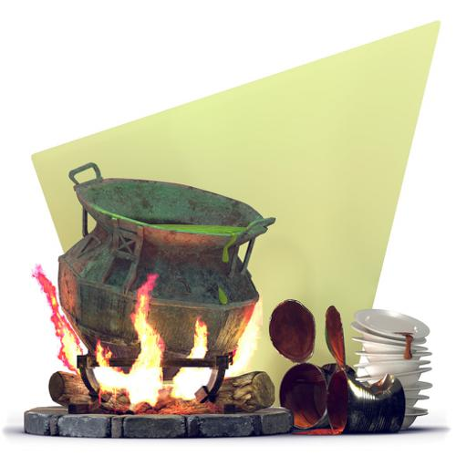 Sizzling Cauldron preview image