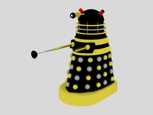 Black Dalek Leader preview image