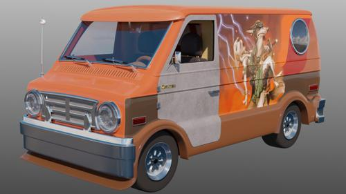 Finnick's van from Zootopia preview image