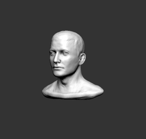 1 hour head sketch preview image