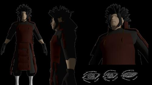 Madara 3d model preview image